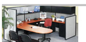 Storlie - Reception Stations & Office Partitioned Cubicles