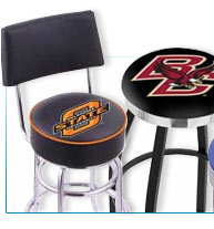 Sports Logo Bar Stools