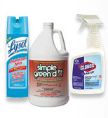 disinfectants and sanitizers