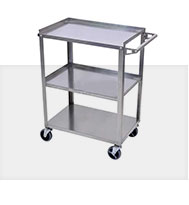 Stainless Steel Utility Stock Carts