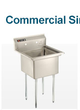 Freestanding 1-Basin Sinks
