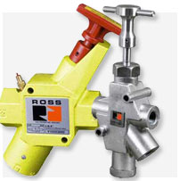 Ross® Manual Pneumatic Lockout Valves