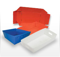 Industrial Trays - Corrugated plastic
