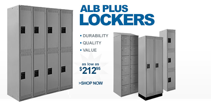 Alb Plus Lockers - as low as $218.95