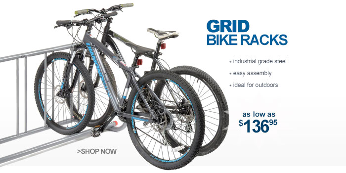 Grid Bike Racks - as low as $136.95