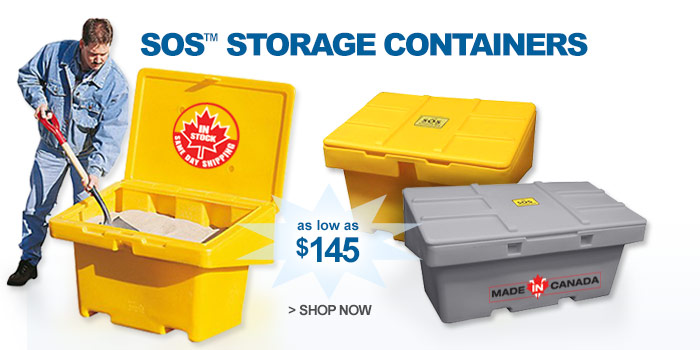 SOS™ Storage Containers - as low as $168.95
