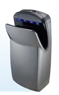 World Dryer® Vmax™ Silver Vertical Hand Dryer - V-629A