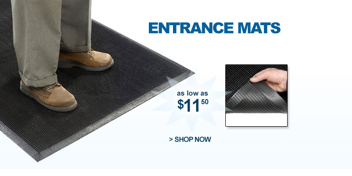Entrance Mats - as low as $11.50
