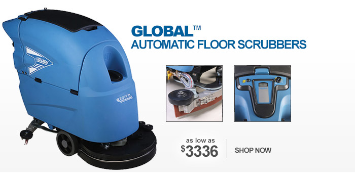 Global™ Automatic Floor Scrubbers - as low as $3336