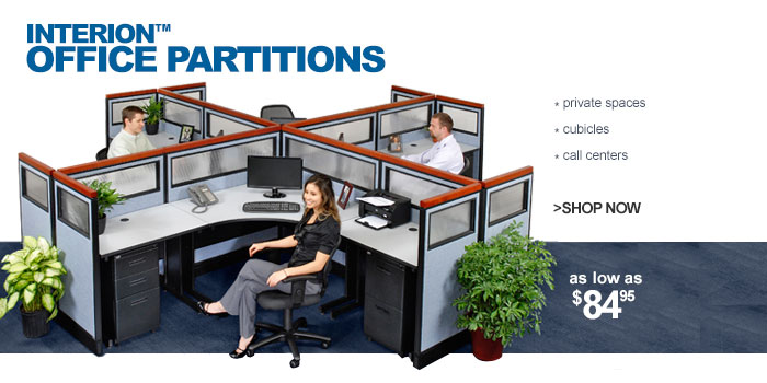 Interion Office Partitions - as low as $84.95