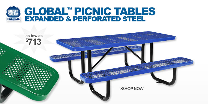 Global™ Picnic Tables - as low as $708
