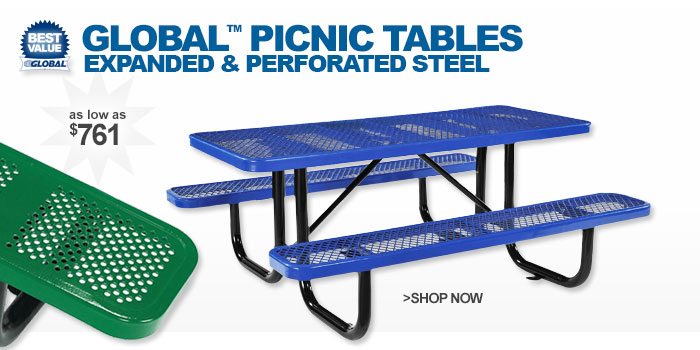 Global™ Picnic Tables - as low as $761